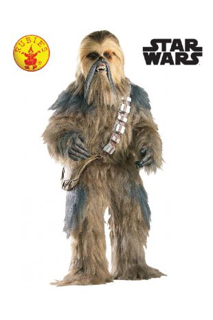 Star Wars Chewbacca Collectors Edition Costume available to buy with Afterpay, Paypal or Layby at Little Shop of Horrors Costumery - The best costume shop in Melbourne