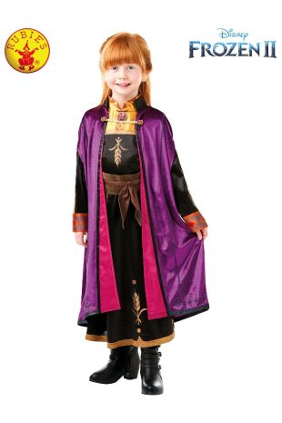 ANNA FROZEN 2 DELUXE COSTUME, CHILD