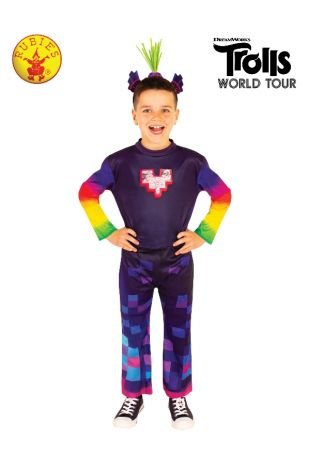 KING TROLLEX 2 DELUXE COSTUME, CHILD