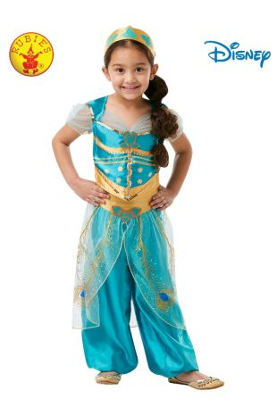 JASMINE LIVE ACTION ALADDIN COSTUME, CHILD