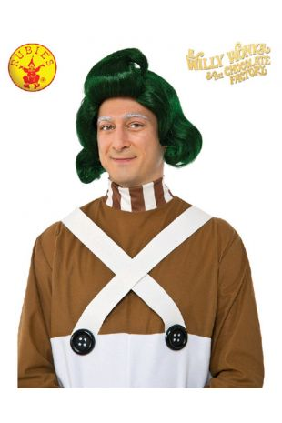 Willy Wonka Oompa Loompa Officially Licensed Costume Wig - Buy Online with Afterpay, Paypal or Layby at Little Shop of Horrors Costumery - Costume Shop Melbourne