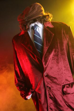 Angus Young ACDC Costume - Little Shop of Horrors Costumery - Costume Hire Shop - Mornington Frankston