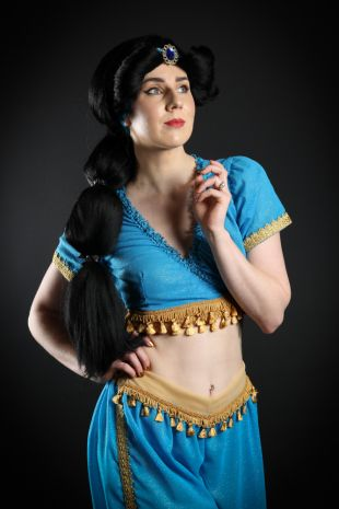 Aladdin - Princess Jasmine Costume - Little Shop of Horrors Costumery - Costume Hire Shop - Mornington Frankston