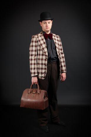 Amos Hart Chicago Roaring Twenties 1920s Costume - Little Shop of Horrors Costumery - Costume Hire Shop - Mornington Frankston Melbourne Victoria Australia