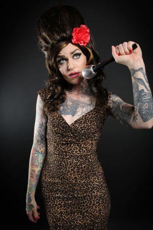 Amy Winehouse Costume - Little Shop of Horrors Costumery - Costume Hire Shop - Mornington Frankston