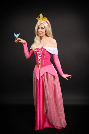 Aurora - Sleeping Beauty Costume -Disney- Fancy Dress Party- Little Shop of Horrors Costumery - Costume Hire Shop - Mornington- Frankston- Melbourne