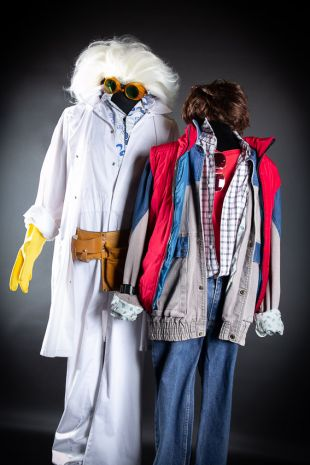 Doc - Back to the Future - Costume Hire - Mornington Peninsula - Frankston - Little Shop of Horrors Costumery