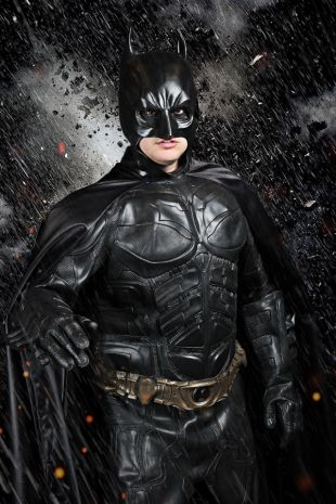 Batman the Dark Knight Costume - Hire at Little Shop of Horrors Costumery the best costume hire shop in Mornington Peninsula, Frankston and Melbourne