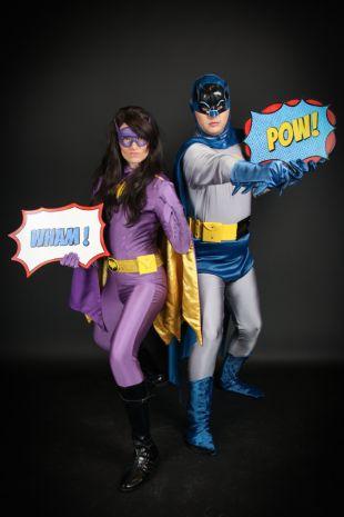 Batgirl 1966 Little Shop of Horrors Csotumery Costume Hire Shop Mornington Peninsula and Melbourne