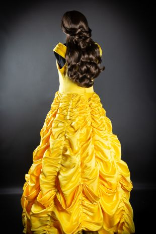 Belle Costume- Beauty And The Beast Costume- Walt Disney Costume- Fairytale Princess Costume - Disney Princess - Little Shop of Horrors Costumery - Costume Hire Shop - Mornington Frankston Langwarrin Melbourne Fancy Dress