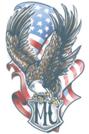 Biker Eagle Tattoo