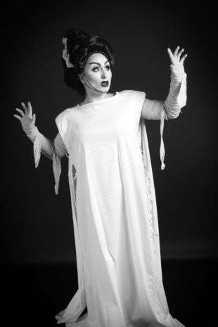Bride of Frankenstein Costume - Little Shop of Horrors Costumery - Costume Hire Shop - Mornington Frankston
