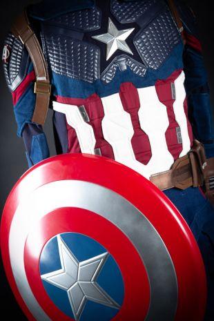 Captain Marvel Womens Costume Hire Melborune Mornington