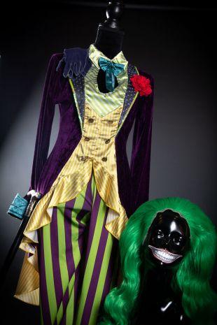 Chelsea Von Haha - The Joker Costume - Harry Potter - Little Shop of Horrors Costumery - Costume Hire Shop - Mornington Frankston