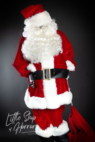 Santa Claus Suit Christmas Costume Hire Little Shop of Horrors Costumery 6/1 Watt Road Mornington Frankston Melbourne Victoria Australia with instore Afterpay