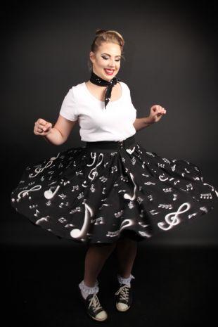 1950s Rock n Roll Costume - Little Shop of Horrors Costumery - Costume Hire Shop - Mornington Frankston