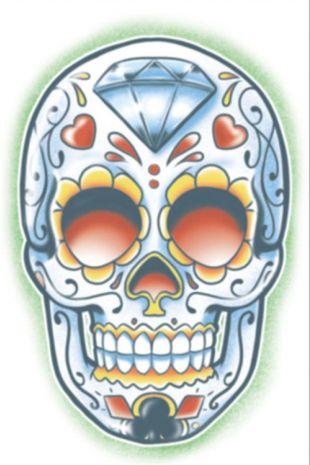 Day of the Dead El Jugador Tattoo