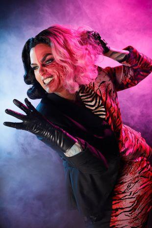 Two Face Batman Villain Costume Hire Cosplay