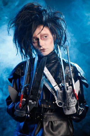 Little Shop of Horrors Costumery - Tim Burton- Johnny Depp - Edward Scissorhands premium edition licensed costume available for Mornington, Sorrento, Frankston, Langwarrin, Cranbourne, Melbourne and beyond.