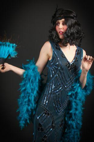 Ellie Bennett Roaring Twenties 1920s Costume - Little Shop of Horrors Costumery - Costume Hire Shop - Mornington Frankston Melbourne Victoria Australia