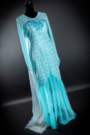 Elsa Frozen Disney Princess Costume Hire Cosplay