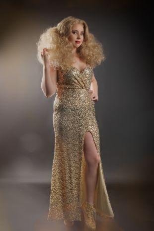 Elvira Hancock - 1970s Disco Studio 54 Costume - Little Shop of Horrors Costumery - Costume Hire Shop - Mornington Frankston