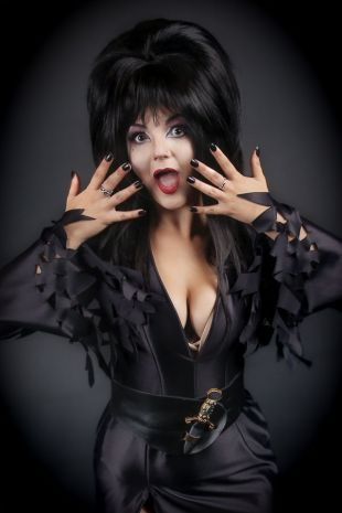 Elvira Mistress of the Dark Costume - Little Shop of Horrors Costumery - Costume Hire Shop - Mornington Frankston Melbourne Victoria Australia