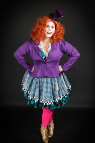 Emili Bonkers - Mad Hatter - Alice in Wonderland - Little Shop of Horrors Costumery - Costume Hire Shop - Mornington Frankston