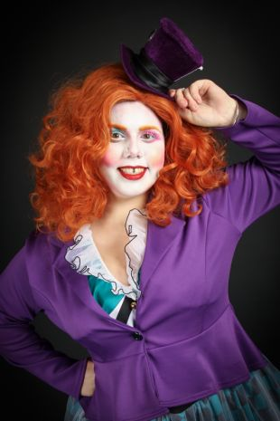 Emili Bonkers - Mad Hatter - Alice in Wonderland - Little Shop of Horrors Costumery - Costume Hire Shop - Mornington Frankston