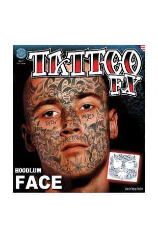 Face Tattoo: Hoodlum
