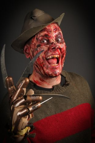 Freddy Krueger Costume and Makeup at Little Shop of Horrors Costumery 6/1 Watt Rd Mornington Melbourne Victoria Australia