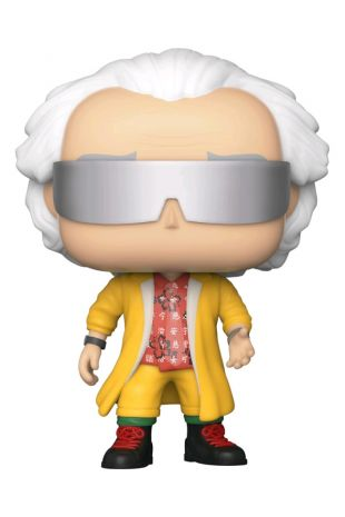 Back to the Future - Doc with Helmet Pop! Vinyl