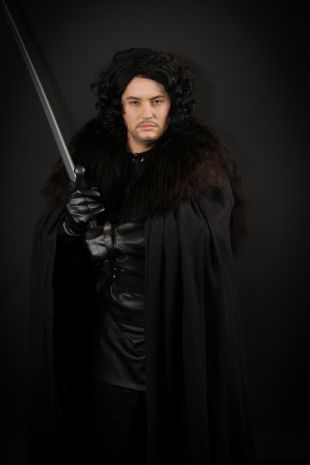 Jon Snow Game of Thrones Costume hire from Little Shop of Horrors Costumery 6/1 Watt Road Mornington Melbourne Australia Costume Shop
