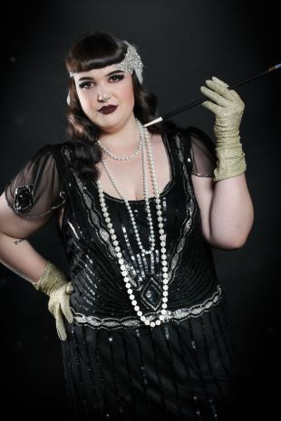 Gilda Grey 1920s Gatsby Flapper Costume Hire Hair & Makeup, Peaky Blinders Costume, Great Gatsby Costumes, Plus Size Costumes