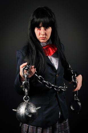 Gogo Yubari Kill Bill Costume Hire - Little Shop of Horrors Costumery - Mornington Peninsula Frankston. Melbourne Victoria Australia