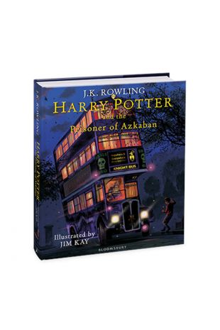 Harry Potter and the Prizoner of Azkaban: Illustrated Edition Book - J.K. Rowling, Jim Kay