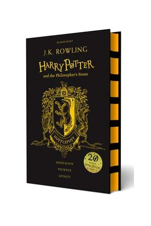 Harry Potter and the Philosopher's Stone: 20th Anniversary House Edition Hufflepuff