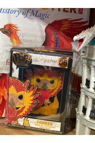 "Harry Potter - 4"" Pop! Enamel Pin Buckbeak, Dobby, Fawkes, Nagini, Basilisk"