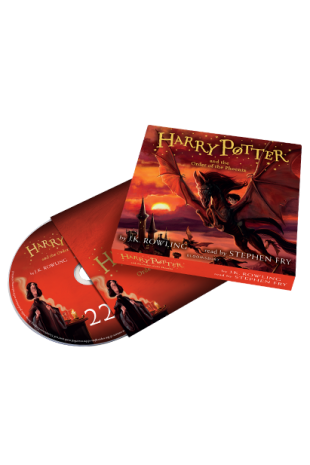 Harry Potter and the Order of the Phoenix: Audio Book Edition CD