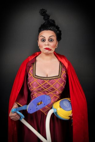 Our Mary Sanderson is part of the Disney Hocus Pocus trio The Sanderson Sisters and is available to hire now at Little Shop of Horrors Costumery, the best costume shop located in Mornington in the South Eastern Suburbs, Frankston, Melbourne.