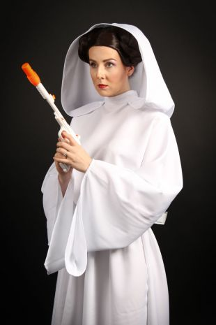 Princess Leia - Star Wars Universe - Disney Lucasfilms Fancy Dress located in Melbourne- Custom made costume available to hire or made to order at Little Shop of Horror - Little Shop of Horrors Costumery - Mornington Frankston Melbourne