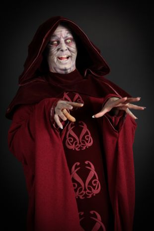 Supreme Chancellor Palpatine Collectors Edition Costume  is a Star Wars Officially Licensed Costume available to hire now at Little Shop of Horrors Costumery - The best costume shop in Mornington, Frankston, Melbourne and Victoria.