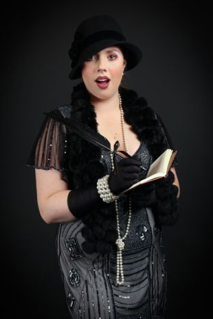 Roaring Twenties 1920s Flapper Costume from Little Shop of Horrors Costumery Mornington Frankston Melbourne Victoria
