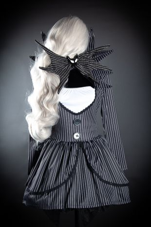 Ladies Jack Skellington Costume Hire