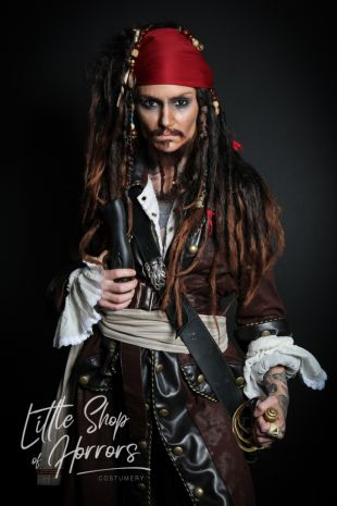 Jack Sparrow Costume - Little Shop of Horrors Costumery - 6/1 Watt Rd Mornington Frankston Melbourne Victoria Australia