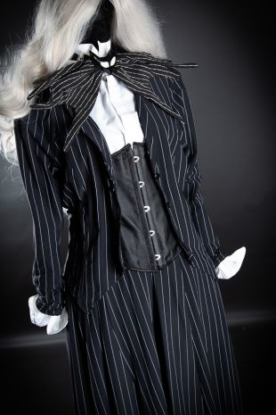 Tim Burton- Disney- Nightmare Before Christmas- Jack Skellington Costume- Little Shop of Horrors Costumery - Mornington Peninsula- Frankston- Melbourne- Halloween Fancy Dress Hire