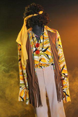 Jimi Hendrix Costume - Little Shop of Horrors Costumery - Costume Hire Shop - Mornington Frankston