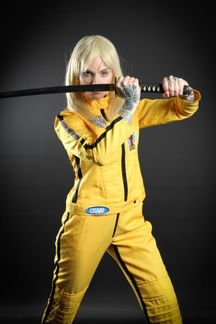 Beatrix Kiddo - The Bride - Kill Bill - Little Shop of Horrors Costumery - Costume Hire Shop - Mornington Frankston