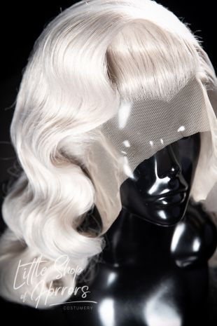 Stormy Weather, 1920s, 1930s vintage inspired custom styled lace front wig. Melbourne, Australia.