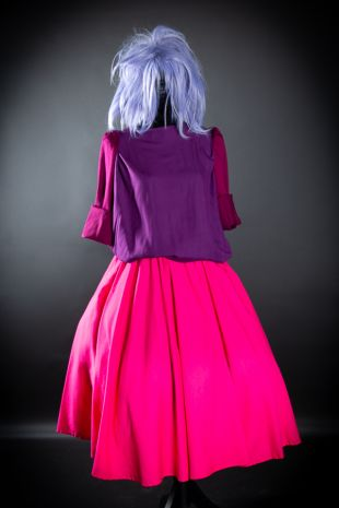Little Shop of Horrors Costumery present custom made Mad Madam Mim Costume Hire - Released in 1963 The Sword In The Stone by Walt Disney - Available to hire now at the best costume shop in  Mornington Frankston Melboune Victoria Australia. Book makeup.
